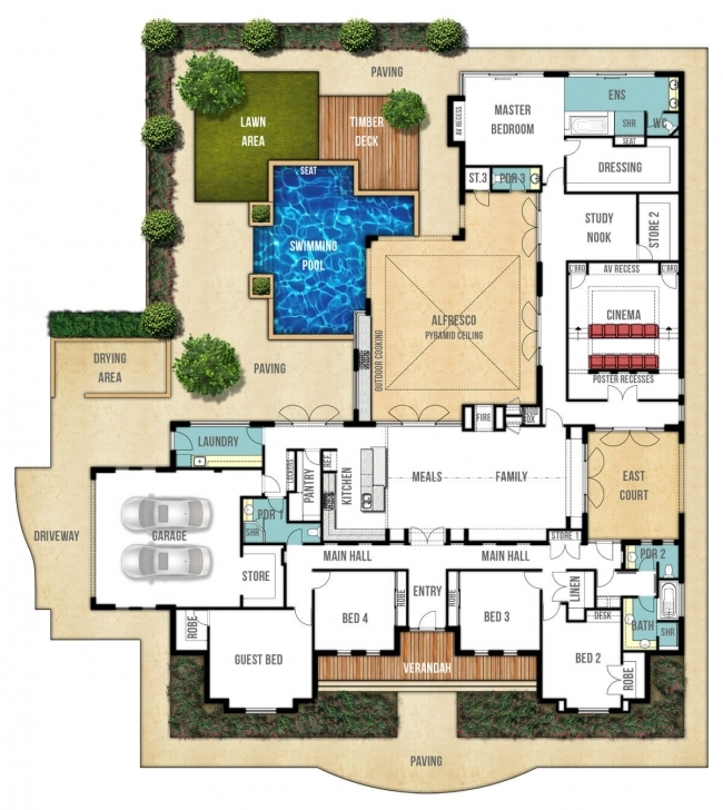 Stunning Floor Plan Friday: Federation Style Splendour Single Story House Floor Plans Australia Picture
