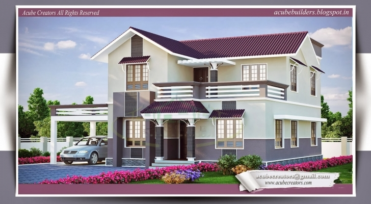 Stunning New American House Plans 2015 Kerala Home Design Image 2015 Kerala Floor Plans Picture