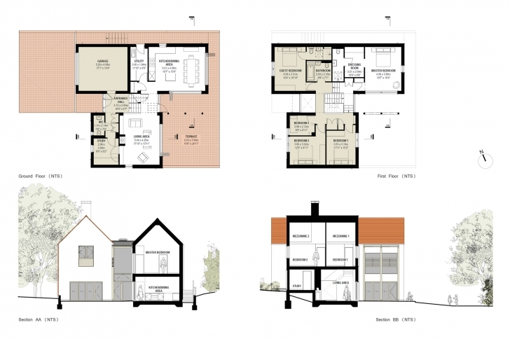 Stunning New House Floor Plans New House Floor Plans 2017 Modern 4 Bedroom House Plans Uk Photo