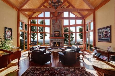 Luxury Mountain Chalet Home Plans