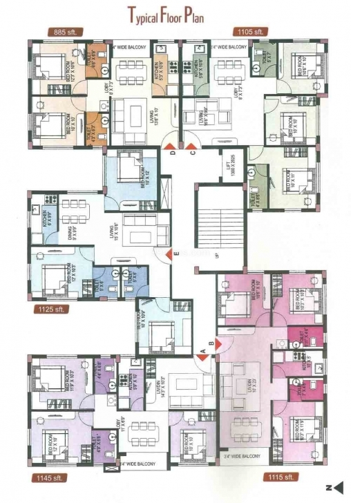 Stunning Small 3 Bedroom Apartment Floor Plans Of Fresh | Lostark.co House Plans For 6 Bedroom Flat Pic