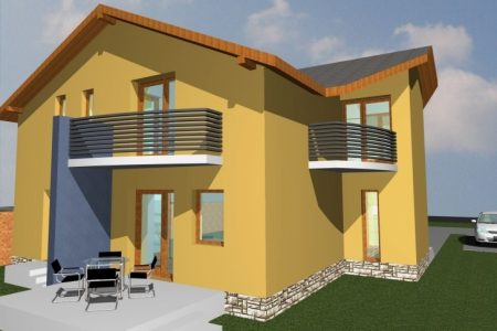 Simple Small 2 Storey House Design In Nigeria