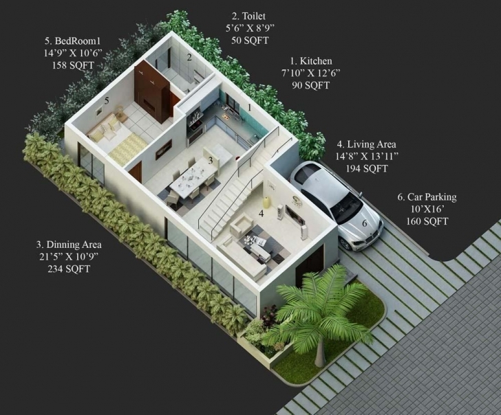 Top 30X50 House Plans Unusual Design 8 My Little Indian Villa 43R36 Indian House 30 By 50 Pic