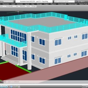 Autocad 2D Plan To 3D