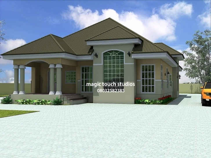 Top 4 Bedroom Modern House Plans In Ghana New Bungalow Bedroom Ideas 5 4 Bedroom Modern House Plans In Ghana Image