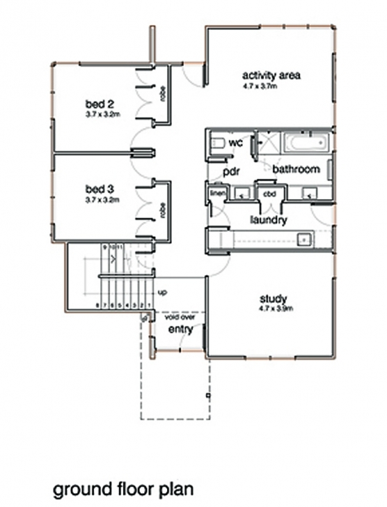 Top Fascinating G+1 Residential House Plan Ideas - Exterior Ideas 3D Floor Plan G 2 Residential Building Picture