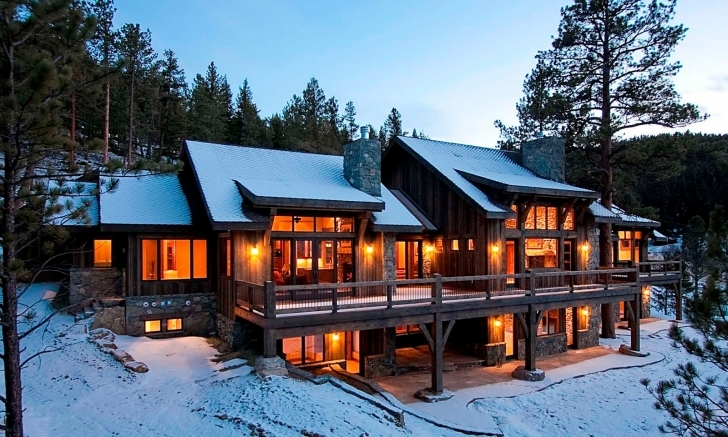 Top Floor: Unique Luxury Mountain Home Floor Plans: Luxury Mountain Home Small Luxury Mountain Home Plans Pic