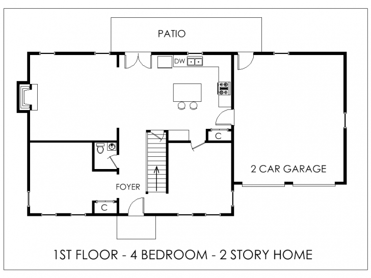 Top House Plan Apartments: Simple Floor Plans Simple Floor Plans With Simple One Story Building Floor Plans Image