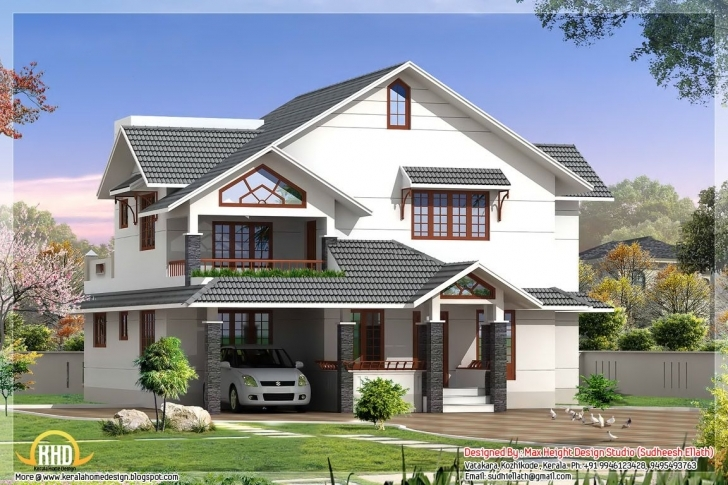 Top Indian Style House Elevations Kerala Home Design Floor Plans Modern Kerala Elevation Residential House Plans Image
