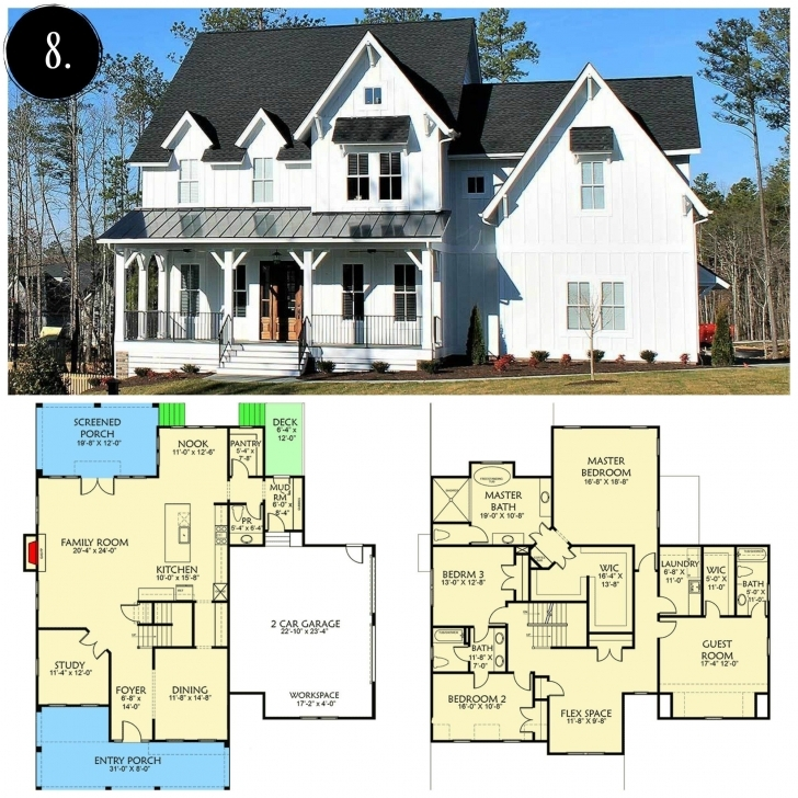 Top Modern Farmhouse Floor Plan | Rooms For Rent Blog | House Plans Pinterest Modern Farmhouse Floor Plans Photo