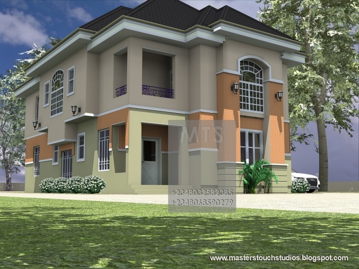Top Mrs Ifeoma 4 Bedroom Duplex Modern Nigerian 4Bedroom Duplex Pics Photo
