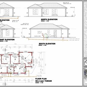 South African 3 Bedroom House Plans