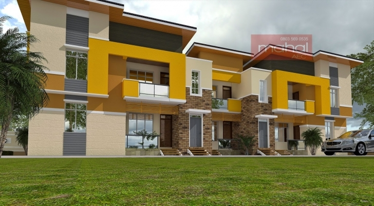 Top Photo of Contemporary Nigerian Residential Architecture How Many Blocks Can Build Three Bedroom Flat Picture