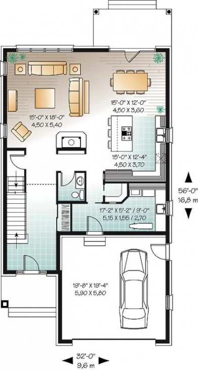 Top Photo of Detail Du Plan W3443 | Plan De Maison | Pinterest | Detail, Semi 17 By 50 Home Design Image
