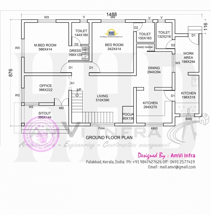 Top Photo of Floor Plan Elevation Modern House Kerala Home Design Plans • Homes Modern Plan And Elevation Photo