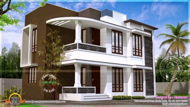 Top Photo of Home Architecture: Kerala Style House Plans Within Sq Ft, Inspiring Kerala Model 750 Sq Veedu Design Image