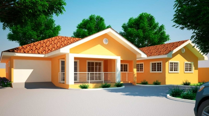 Top Photo of House Plans Ghana Jonat Bedroom Plan - Building Plans Online | #74320 Building Plans Of Four Bedroom Image