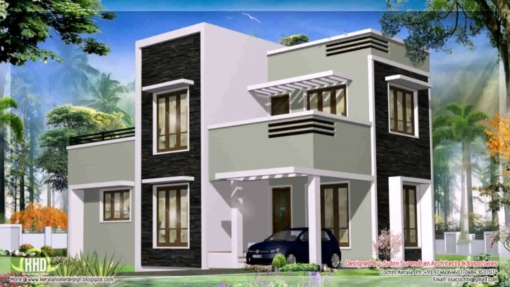 Top Photo of Kerala Style Modern House Photos And Plans - Youtube Modern House In Kerala Photo