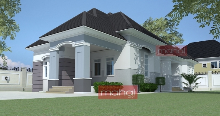 Top Photo of Latest Architecture For Bungalow Four Bedroom In Nigeria Po 21 11 Latest Bungalow In Ghana Com Photo