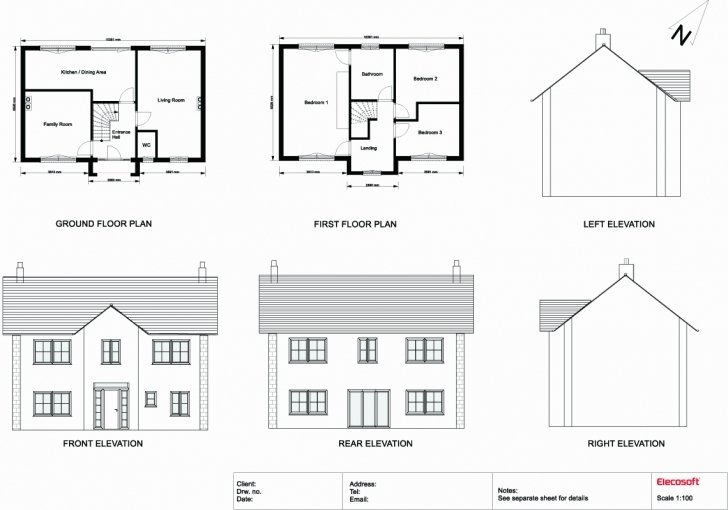 Top Photo of Simple House Plan With Measurements Lovely 2D Drawing Gallery Floor Simple 2D Plan Image