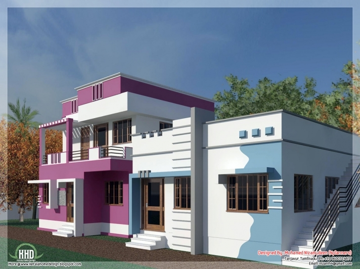 Top Photo of Tamilnadu Model Home Design Feet Kerala - House Plans | #12826 Tamilnadu Best House Gallery Image