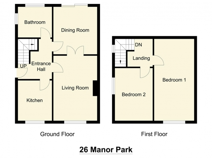 Wonderful 2 Bedroom Semi Detached Bungalow Floor Plans – Home Plans Ideas Semi Detached Bungalow Plans Image