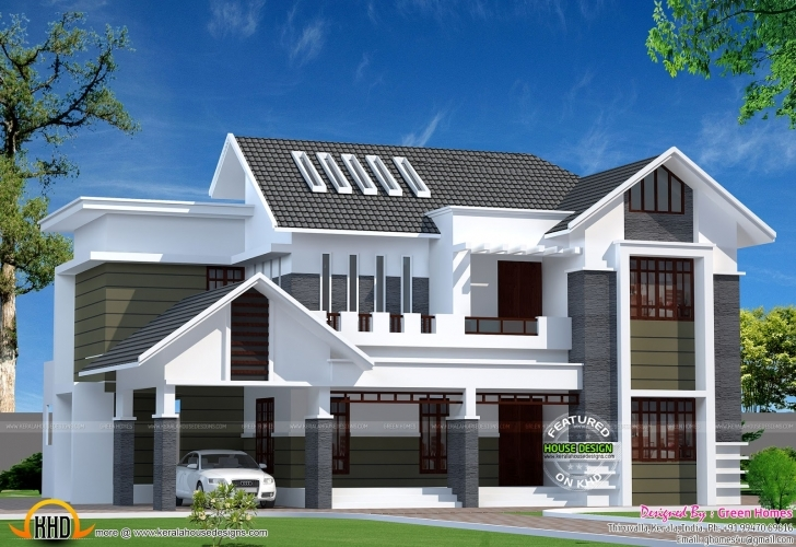 Wonderful 2800 Sq Ft Modern Kerala Home Kerala Home Design And, Modern Kerala Modern House In Kerala Image