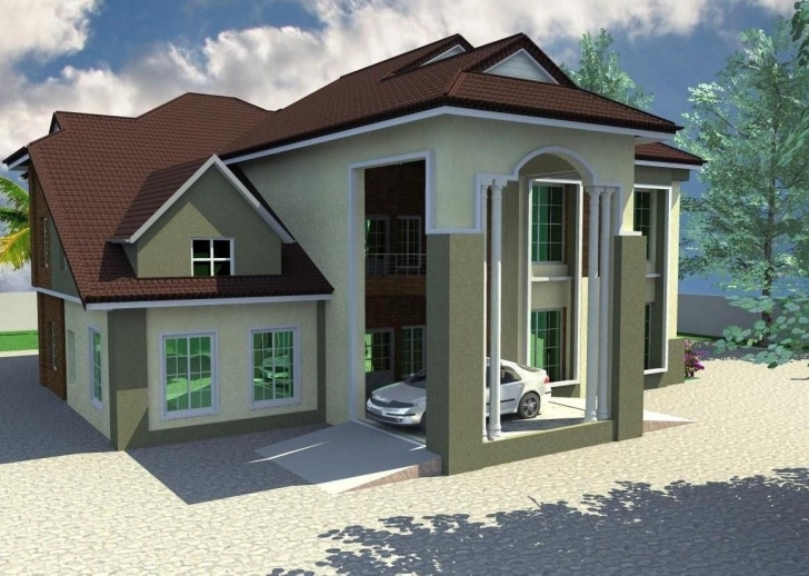 Wonderful 5 Bedroom Duplex Plan 5 Bedroom Bungalow Floor Plans In Nigeria Building Plan If A 5 Bedroom Duplex In Nigeria Photo