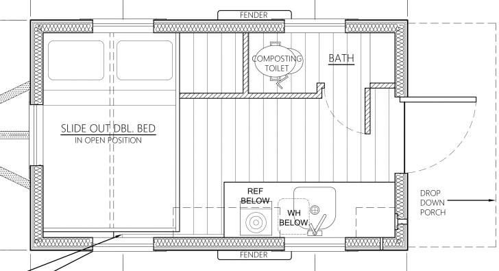 Wonderful An Affordable Tiny House Design To Take Off The Grid Or Into The Tiny House Plans Image