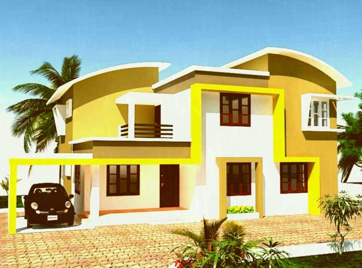 Wonderful Attractive Colour Of Painting Ideas House Exterior Color For Houses Kerala Exterior Home Painting Photo