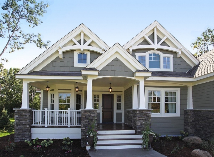 Wonderful Craftsman Style House Plans Two Story Ideas | Architectural Home New Craftsman House Plans 2017 Pic