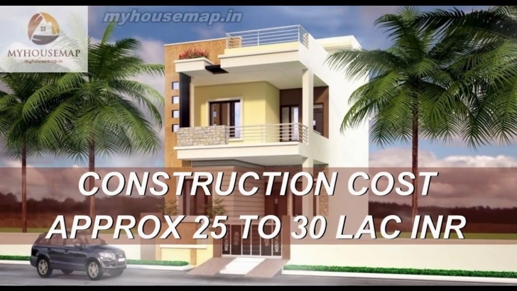 Wonderful House Design Front Elevation House 20*60 Sq Ft Latest 2017 - Youtube 20*60 House Front Elevation Image