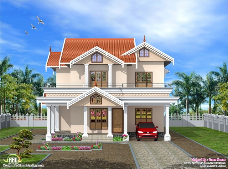 Wonderful House Front Elevation Designs India Side Design - House Plans | #70118 House Front Design Image Pic