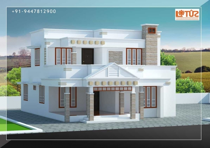 Wonderful Kerala Home Designs | House Plans & Elevations | Indian Style Models House Design In Kerala Photo