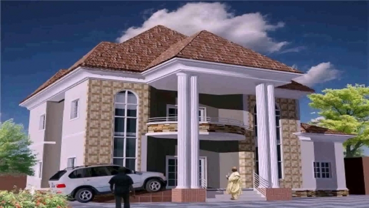 Wonderful Modern Duplex House Plans In Nigeria - Youtube Latest House Designs In Nigeria Photo
