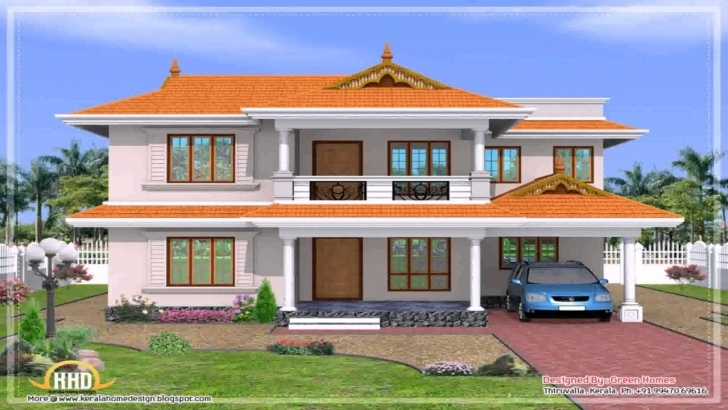 Wonderful My Dream House Kerala Style - Youtube Kerala Model Home Hd Image Download Image