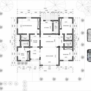 Three Bedroom Plan In Nigeria