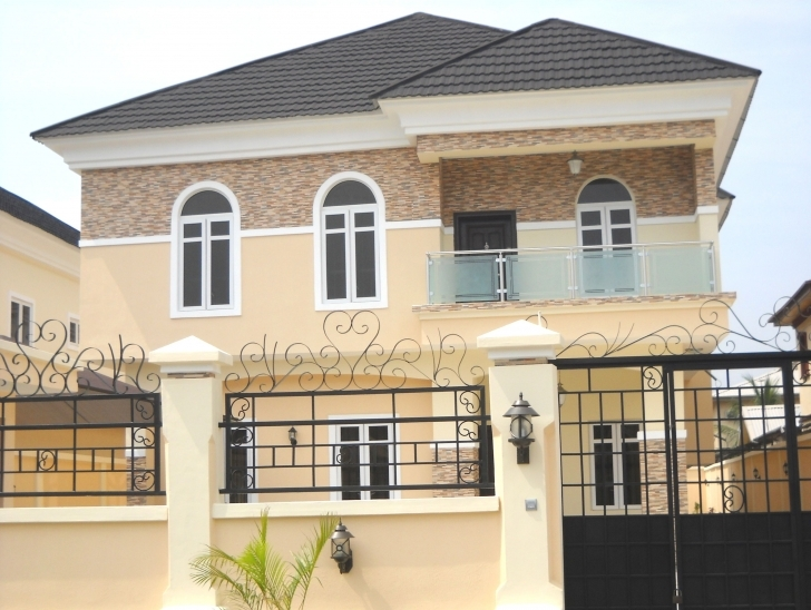 Wonderful Own Beautiful Houses In Nigeria - Village, Lagos (Island/lekki Nigeria House Plans For Sale Image