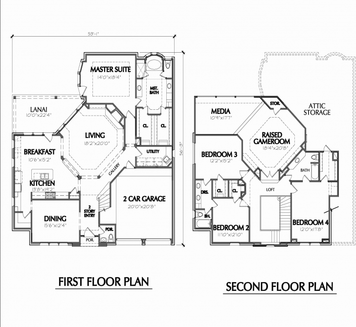 Amazing 1 Story House Plans Under 1500 Sq Ft New Baby Nursery 2 Story House 1500 Sq Ft House Plans 2 Story Picture