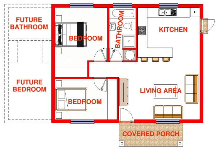 Amazing 3 Bedroom Low Cost House Plans - Homes Floor Plans Low Cost Three Bedroom House Plans Image