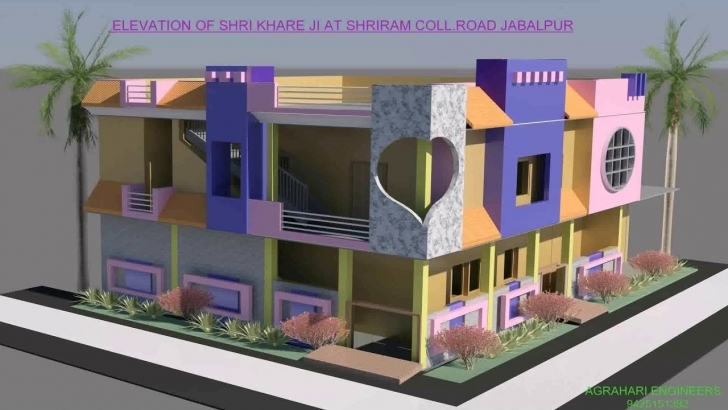 Amazing 30X50 House Plans With Elevation - Youtube Front Elevation Of Indian House 30X50 Site Photo