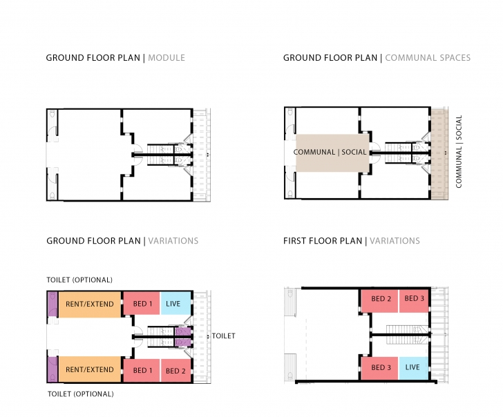Amazing A New Design For Rdp Housing In South Africa? | Our Future Cities Typical Rdp House Plan Picture