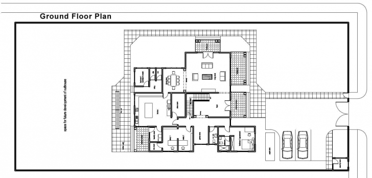 Amazing Ghana House Plans Naanorley Plan Floor Within - Home-Improvements Ghana House Plan Picture Image