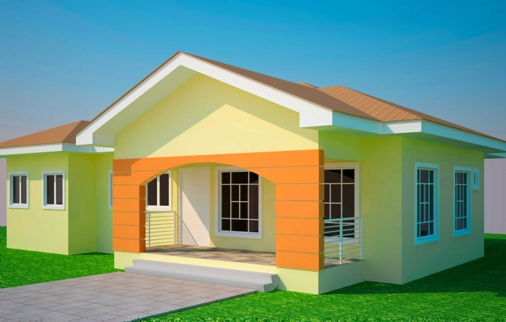Amazing House Plans Ghana Bedroom Plan - Building Plans Online | #44959 3 Bedroom Building Plan Pic