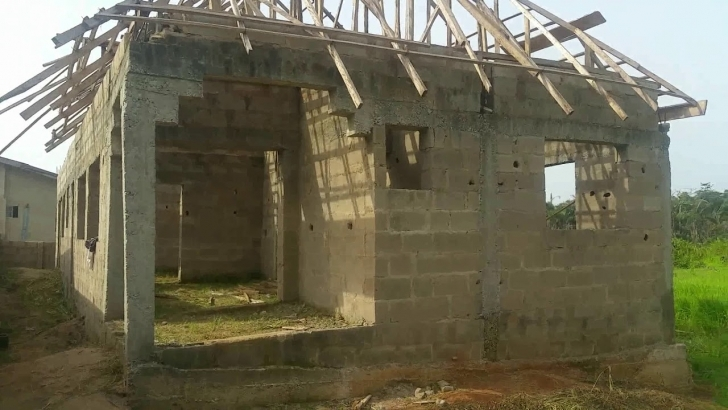 Amazing How To Build A Big House On A Half Plot In Nigeria - Youtube Building On Half Plot Of Land Photo