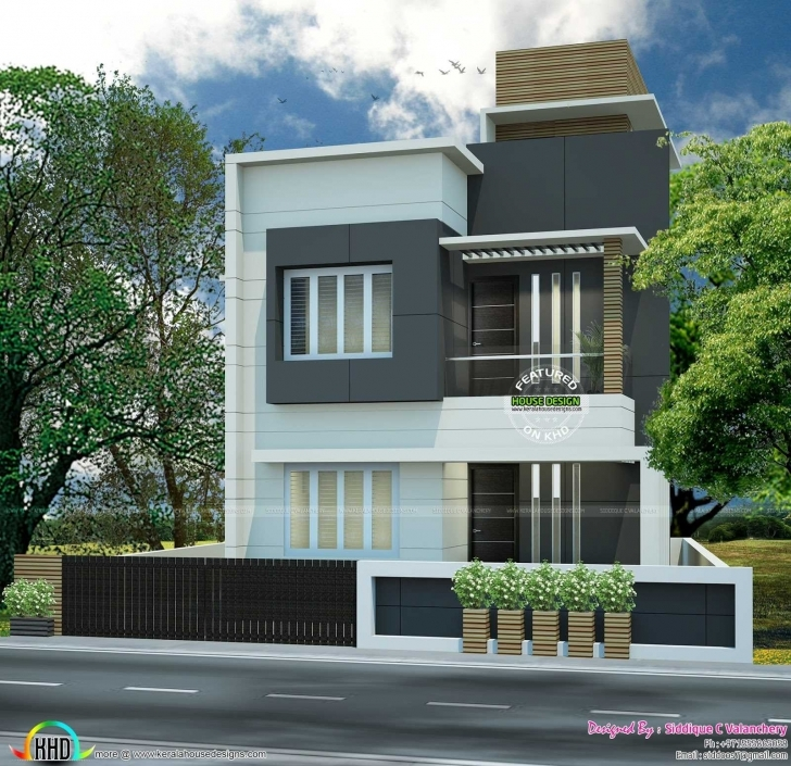 Amazing Modern Bedroom Flat Roof House Trends And Beautiful Roofing Designs Small Flat Roofed Houses Picture