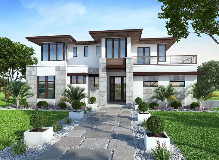 Amazing Plan 86033Bw: Spacious, Upscale Contemporary With Multiple Second Plane For Modern House Photo