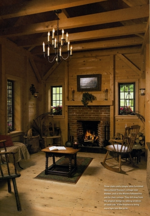 Amazing Stone Thoreau Cabin Replica - Tiny House Swoon Walden Tiny House Swoon Pic