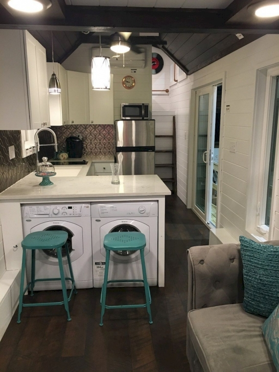 Amazing Top 70+ Creative Modern Tiny House Interiors Decor We Could Actually 2 Story Tiny House Interior Pic