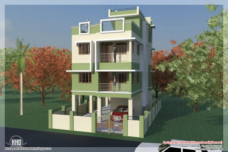 Astonishing 1450 Sq Feet South Indian House Design Kerala Home Design And Floor 24 Ft Front House Design Picture